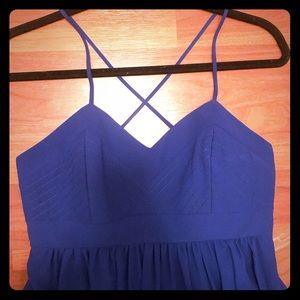 Royal blue Badgley Mischka Dress size 2